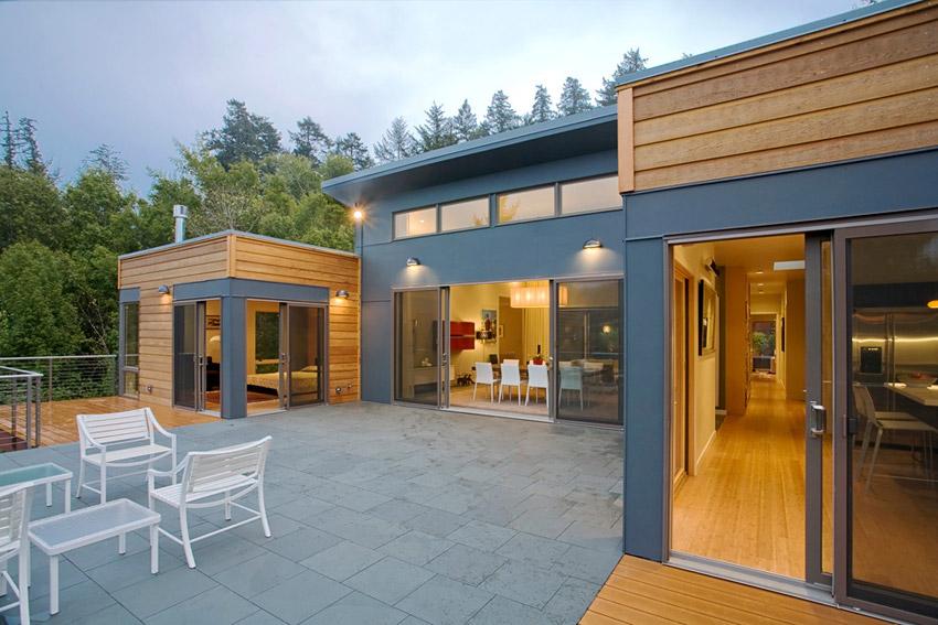 Studio 101 designs woodacre residence Michelle kaufmann designs blu homes
